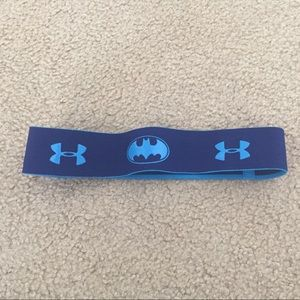 NWOT Under Armour Batman Headband